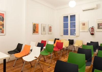 Aula de estudio ELP Madrid