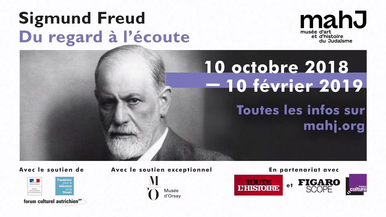 Exposición Sigmund Freud, de la mirada a la escucha