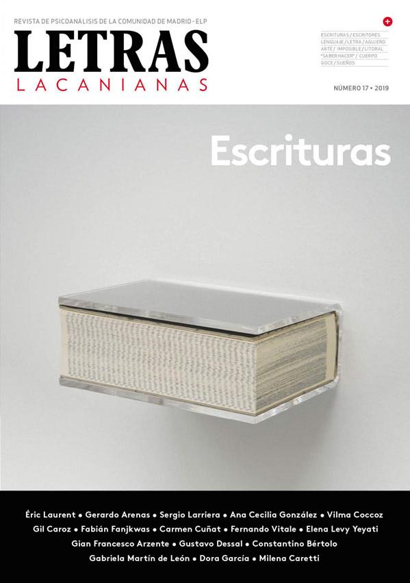 Portada Letras Lacanianas. Revista de Psicoanálisis de la Comunidad de Madrid - ELP