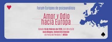 Reseña del Foro Europeo Amor y Odio hacia Europa por Miriam Chorne